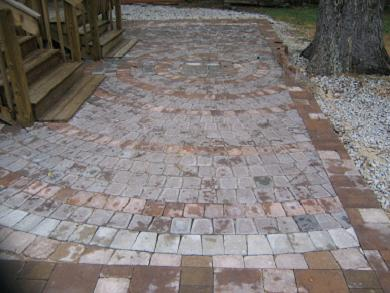 Pavers Ep Henry Coventry Stone 1 Harvest Blend In A Random And Circle ...
